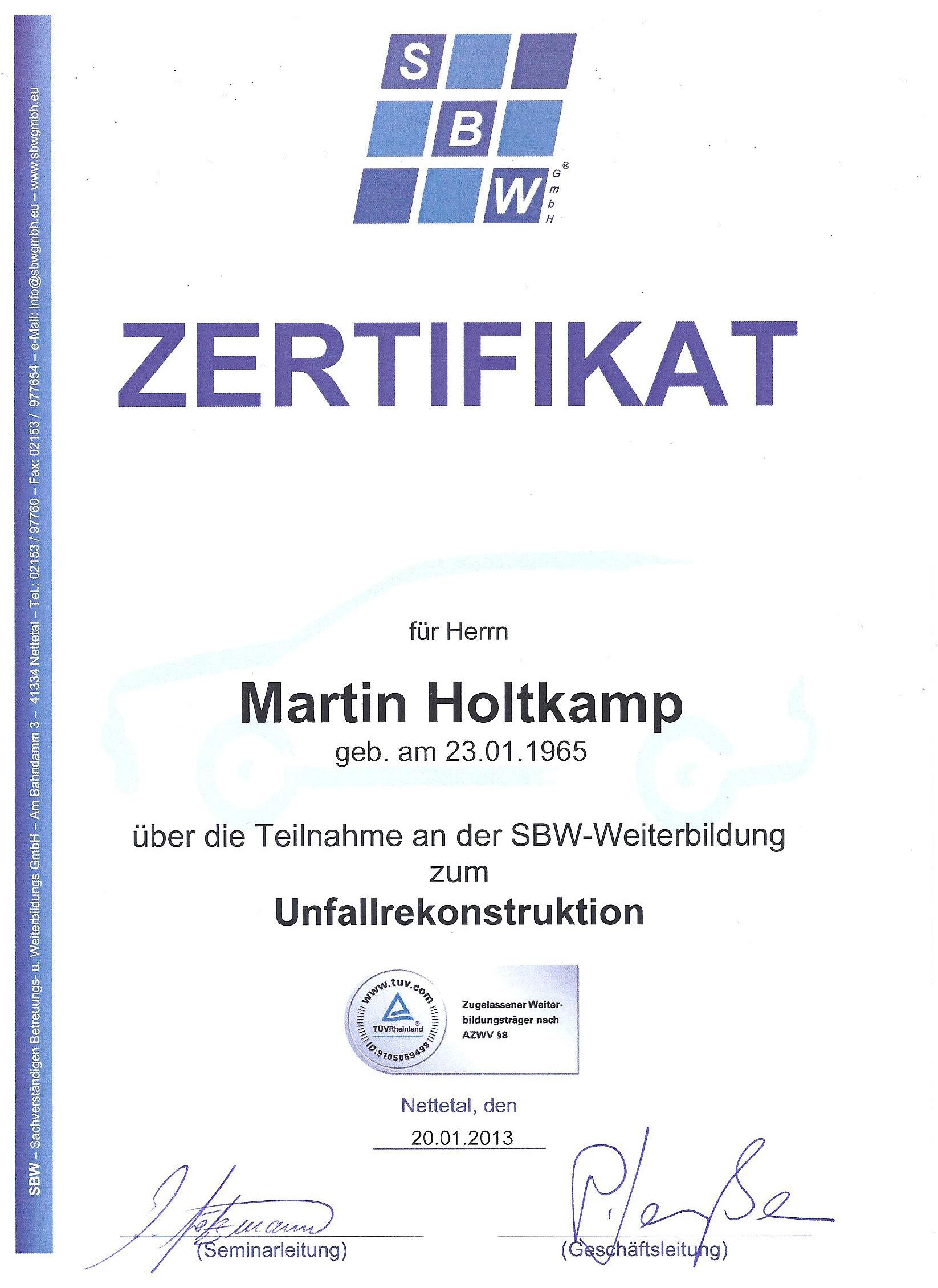 Kfz-Gutachter-Holtkamp - Startseite